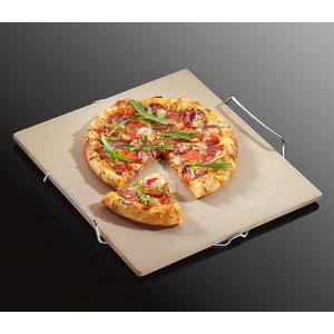 kamień do pizzy z metalową kratką